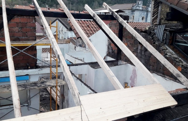 Comprehensive reform of a roof in Tolosa. Basque Country.