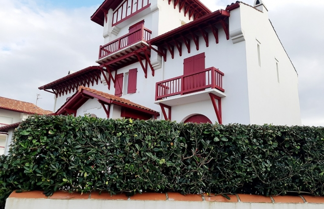 Comprehensive reform in Hendaya. Basque Coast.