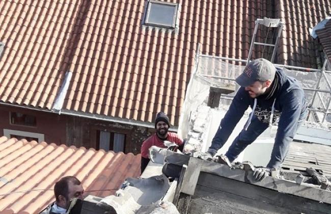 Rénovation intégrale d'un toit à Tolosa. Pays Basque.